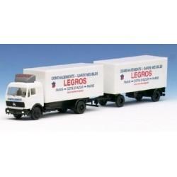 MB S camion + rqe fourgon Déménagements Legros (F)