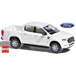 Ford Ranger III (2017) pick-up cabine double blanc
