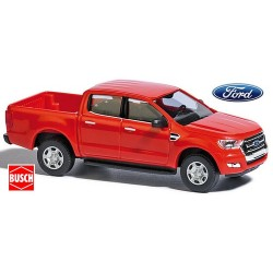 Ford Ranger III (2017) pick-up cabine double rouge