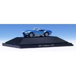 AC Cobra 427 1966 roadster bleu métallisé - PC