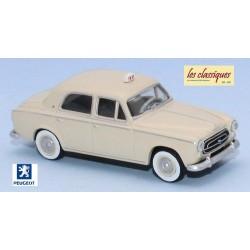 """Peugeot 403 berline 8cv ivoire """"Taxi"""" (1959)"""