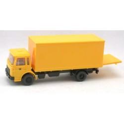 "MAN F8 camion fourgon ""Deutsche Post"" (avec hayon ouvrant)"