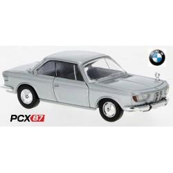 BMW 2000 CS coupé gris métallisé (1965) - Gamme PCX87