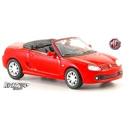 MG TF cabriolet (2002) rouge