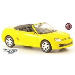 MG TF cabriolet (2002) jaune