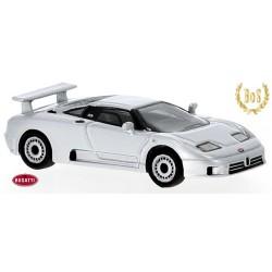 Bugatti EB 110 (1991) gris métallisé - modèle en résine
