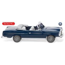 MB 280 SE cabriolet (1967)  bleu acier