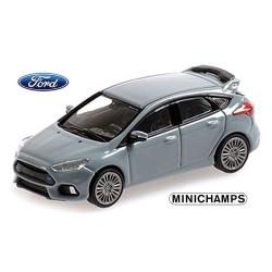 Ford Focus RS 2018 gris bleuté 4 portes