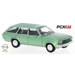 Opel Rekord D Caravan (1972) vert métallisé - Gamme PCX87
