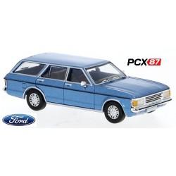 Ford Granada MK I Turnier (1974) bleu métallisé - Gamme PCX87