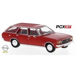 Opel Rekord D Caravan (1972) rouge - Gamme PCX87