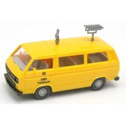 """VW T3 minibus (1979) """"Telekom DBP"""" équipé d'antennes"""