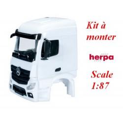 Set de 2 cabines blanches MB Actros Streamspace '11 sans déflecteur - kit à monter