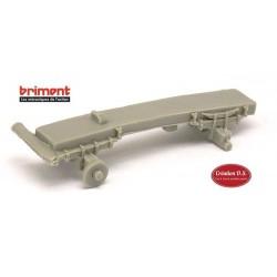 Châssis rigide Brimont ETR (en résine) - empattement 34 mm