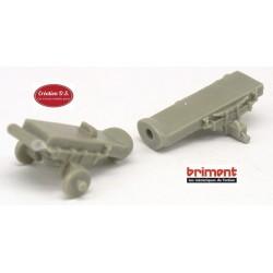 Châssis articulé Brimont ETR (en résine) - empattement 34 mm