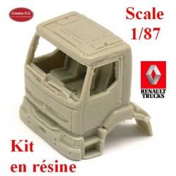 Cabine Renault Kerax (kit résine)