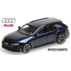 Audi A4 Avant RS4 (2018) bleu foncé métallisé
