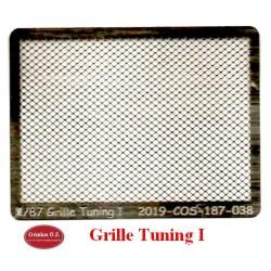 Grille Pare-Buffles Tuning I en arcap photo-découpé