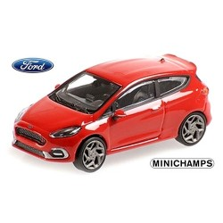 Ford Fiesta ST 2018 rouge 2 portes