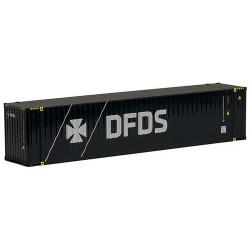 """container 45' Hihg Cub crénelé """"DFDS"""""""