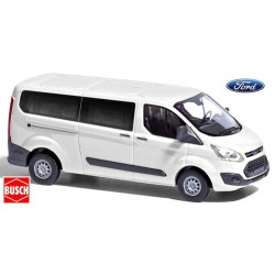 Ford Transit Custom Phase 1 minibus court blanc