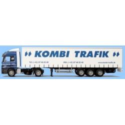 MB Actros L + semi-rqe tautliner Kombi Trafik (DK)