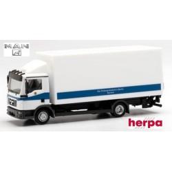 "MAN TGL camion fourgon avec hayon ""Polizei Berlin"""