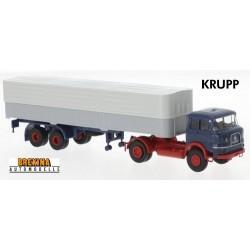 Krupp SF 980 + semi-remorque bâchée (1965) - série éco