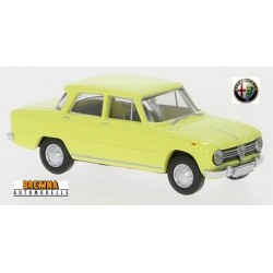 Alfa Romeo Giulia 1300 Ti jaune (1962)