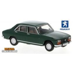 Peugeot 504 berline (1969) vert pin