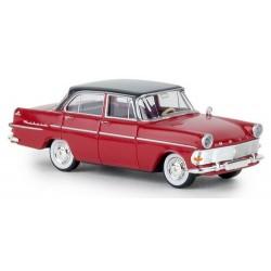 Opel Rekord PII (1960)  berline rouge à toit noir