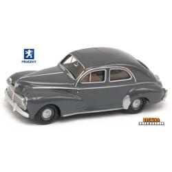 Peugeot 203 berline 1953 gris anthracite