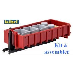 Benne déposable avec chargement - kit à assembler