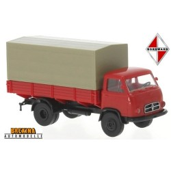 Borgward B66 camion bâché (1959) rouge