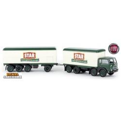 "Fiat 690 ""Mille pattes"" camion + remorque fourgon ""STAR"" (Italia)"