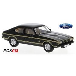 "Ford Capri MK II coupé noir ""JPS"" (1974) - Gamme PCX87"
