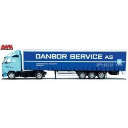 "Volvo FH + semi-remorque tautliner ""Danbor Service - Maersk"""