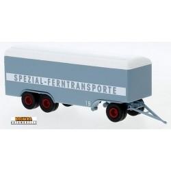 """remorque fourgon 3 essieux """"Spezial Ferntransporte"""" - longueur 115 mm avec le timon"""