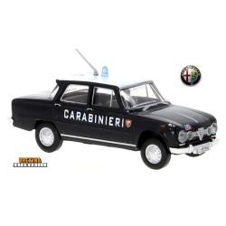 "Alfa Romeo Giulia 1600 berline (1962) ""Carabinieri (Italie)"