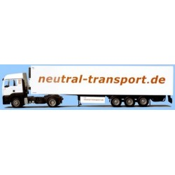 MAN TGA LX + semi-rqe frigo Neutral-Transporte