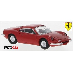 Ferrari Dino 246 GT (1969) rouge - Gamme PCX87