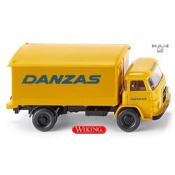 """MAN 415 camion fourgon """"Danzas"""""""