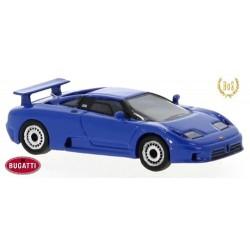 Bugatti EB 110 (1991) bleu - modèle en résine