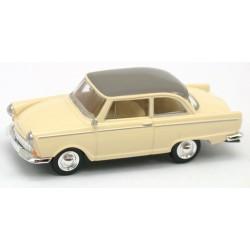 DKW Junior De Luxe 1961 crème toit gris souris