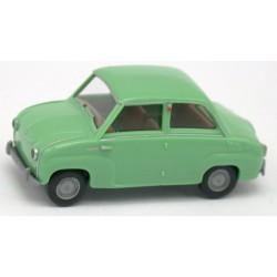Goggomobil Glas vert blanc