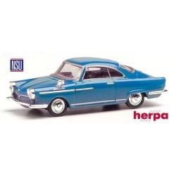 NSU Sport Prinz coupé (1958) bleu brillant