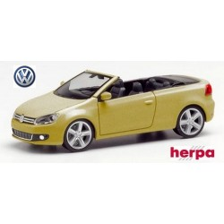 VW Golf VI cabriolet or métallisé