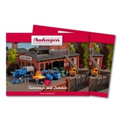 catalogue Auhagen - Gamme véhicules - 72 pages couleur - format A5