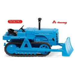 Bulldozer Hanomag K55 (1952) bleu clair