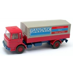 """MAN F8 camion bâché """"Sandvik"""" (cabine courte)"""
